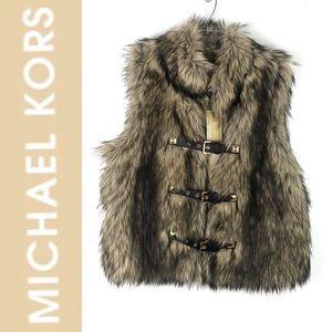 NWT Michael Kors Fury Vest